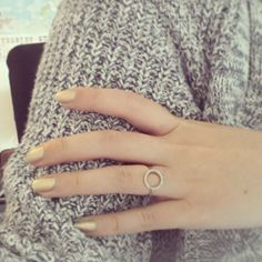Annebeth Bels (@annebeth bels ) matching her manicure to her Diamanti Per Tutti ring.
