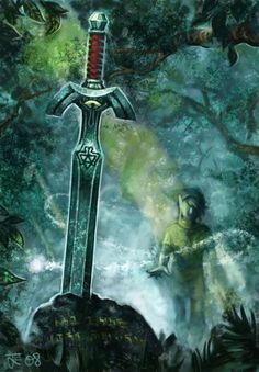 The Mastersword by ~tjernstrom