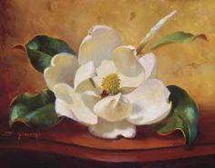 Magnolia Glow I by  Fran Di Giacomo