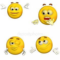 Pacote de emoticons - 7of9 — Imagem de Stock Funny Emoji, Funny Me, Emoji Man, Done With Life, Ok Boomer, Emoji Faces, Polly Pocket, How To Speak Spanish, Man Humor