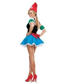 Sunny Gnome Adult Womens Costume
