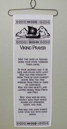 Viking Prayer Wall Hanging Ceramic ship prow wall hanging of a ship's by…chaser- crow. Week Tonight with John Oliver: Border Wall…Sport of Thrones Night time's Watch Oath Wall…Game of Thrones Night's Watch Oath Wall Decal…Viking phrases Viking Shield, Viking Warrior, Viking Life, Viking Art, Viking Woman, Viking Decor, Symbole Viking, Viking Quotes, Norse Pagan