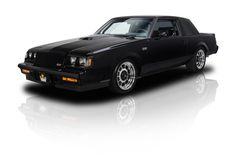 Blacked out and mean, this 1987 Buick Grand National is elegant and an American classic. The motor is clean, the body is straight and the paint shines like its 1987 all over again. Check out this black beauty here. Buick Grand National Gnx, 1987 Buick Grand National, Chevy, Chevrolet, Buick Cars, Car Insurance Rates, Buick Enclave, Gm Car, Buick Regal