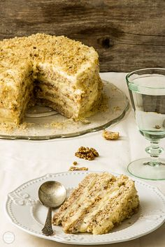 torta-sa-banama - cake with bananas Fruit Recipes, Baking Recipes, Sweet Recipes, Cookie Recipes, Dessert Recipes, Torte Recepti, Kolaci I Torte, Torta Recipe, Rodjendanske Torte
