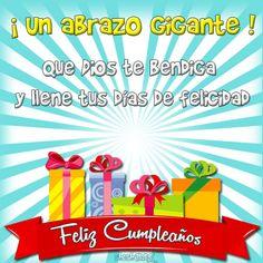 Que Dios te bendiga y llene tus días de felicidad - ツ Imagenes y Tarjetas para Felicitar en Cumpleaños ツ
