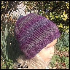 tuto bonnet tricoté chez Mamita