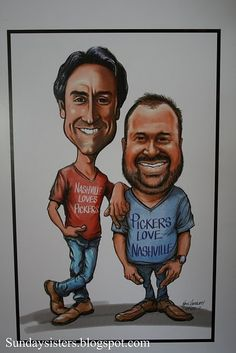 """Pickers""  Love the show -- great caricature"
