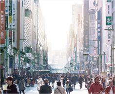 Ginza, Tokyo. 銀座、都響、日本。