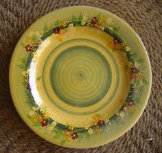 11.8 Traditional Dinner Plate Souleo Provence Terre e Provence Pottery by Souleo Provence Terre e Provence Pottery. $58.00. MORE ON THE WAY!!!  Bring the South of France to your Dinner Table. Plates available in two sizes. Colors and Patterns will vary.  Microwave, Dishwasher & Oven Safe.