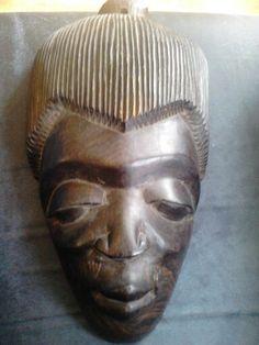 Masker hout-African