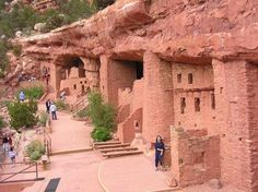Manitou Indian Cliff Dwellings, Manitou Springs CO