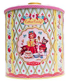 Tea Time Storage Container - I think this is by dumpling dynasty