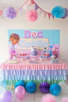 Disney Party Ideas: Doc McStuffins Party