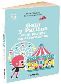 Gala y Patitas en el parque de atracciones Amusement Park, Roller Coaster, Ferris Wheel, Books, Pop, Board Book, Carousel, Dishwasher Detergent, Parks