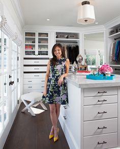 A closet with natural light!