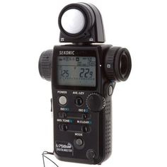 Sekonic L-758DR DigitalMaster, Programmable Digital Flash & Ambient Exposure Meter.