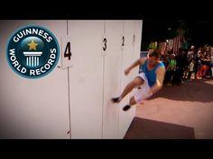 Farthest distance wall running (parkour) – World Record