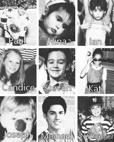 Young vampire diaries cast!! They were so cute