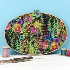 Are you interested in our Tropical print artwork? With our Liberty fabric artwork you need look no further.