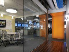 Interactive Data Corporation Office Headquarters Interior Design
