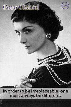 Women's History Month Citation Coco Chanel, Coco Chanel Quotes, George Vi, Citations Chanel, Estilo Coco Chanel, Meaningful Quotes, Inspirational Quotes, Motivational, Gabrielle Bonheur Chanel
