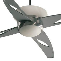 """Quorum 52"""" Astra 4 Blade Ceiling Fan with Wall Control"""