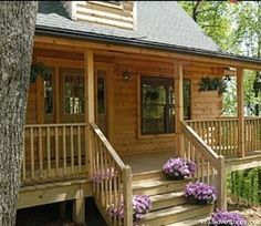 Rocking Chair Front Porch: Brand New Luxury Log Cabins in Blue Ridge Mountain: mountains: asheville north carolina vacation rentals hendersonville Luxury Log Cabins, Log Cabin Homes, Cabana, Log Home Decorating, Decorating Ideas, Cabin Floor Plans, Little Cabin, Home Porch, Relax