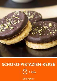 Schoko-Pistazien-Kekse - smarter - Zeit: 1 Std. | eatsmarter.de