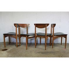 Image of Danish Modern Lane Perception Dining Chairs - Dining Area, Dining Chairs, Lane Furniture, Danish Modern, Perception, Living Room, Image, Ideas, Design