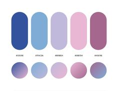 Color palettes 207798970295127087 - 32 Beautiful Color Palettes With Their Corresponding Gradient Palettes Source by Ui Palette, Hex Color Palette, Purple Color Schemes, Purple Pink Color, Purple Color Palettes, Blue Colour Palette, Colores Hex, Ui Color, Gradient Color