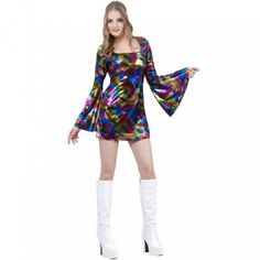 Disco Diva Costume - Disco Party Costume Ideas