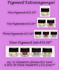 These mineral based pigments are amazing, all natural, chemical free and cruelty free. Don't miss out on this amazing offer. It ends tomorrow.  Www.YouniquebyKristinaMarie.com