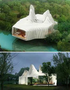 'Bird Island' Sustainable Home   #Information #Informative #Photography