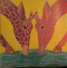 Wild Savannah By Millie Marotta Colouringbook Tropicalwonderland Wildsavannah Milliemarotta Adultcolouringbook