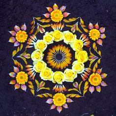 danmala 554 - flower mandalas by Kathy Klein
