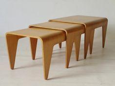 Nesting Tables By Marcel Breuer For Isokon | Furniture 1 | Pinterest | Marcel  Breuer, Marcel And Modern Room