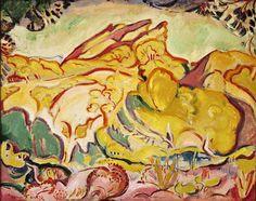 Paysage (Le Bec de l'Aigle, La Ciotat) (1907)