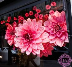 Гигантские цветы для декораций из бумаги, изолона и фоамирана, огромные цветы для оформления свадеб и фотосессий   Fleur Artdan