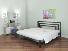Преимущества металлических кроватей: качество по доступной цене. Кровати из металла для спальни в стиле лофт, хай-тек, минимализм,