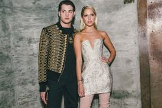 Harry Brant and Olympia Greece