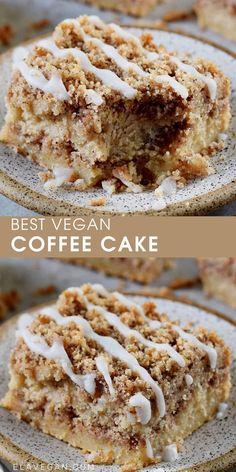 Healthy Cake Recipes, Vegan Dessert Recipes, Delicious Vegan Recipes, Sweet Recipes, Baking Recipes, Yummy Food, Vegan Treats, Vegan Foods, Vegan Dishes