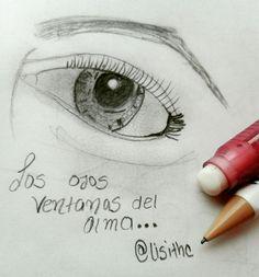 #ojos #dibujo #ventanadelalma #inspiracion