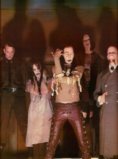 Marilyn Manson, Antichrist Superstar era. One of the best he made.