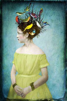 Beth Conklin Songbirds! Or.. A 'bird' hair day!: