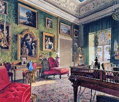 Berliner Schloss_Grünes Zimmer Prinzesin Marianne_E Gaertner_1847