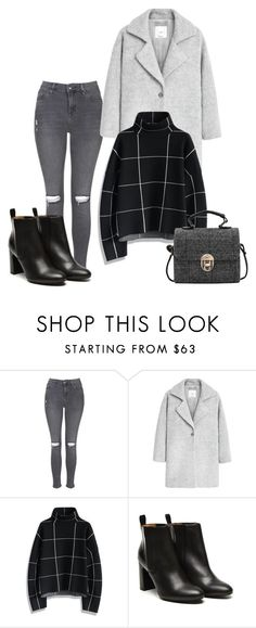 """""""Senza titolo #241"""" by elly01 ❤ liked on Polyvore featuring Topshop, MANGO, Chicwish and Stephane Kélian"""