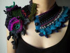 Irish crochet &: freeform