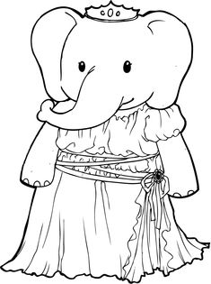 Amazing Elephant Coloring Pages http://procoloring.com/elephant-coloring-pages/