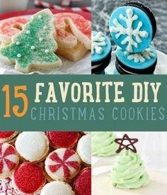 15 Favorite DIY Christmas Cookies   Best Christmas Cookie Recipes