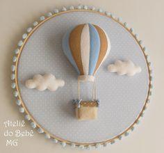 Ateliê do Bebê MG: Duo de Quadros Urso e Balão ( Thomáz )